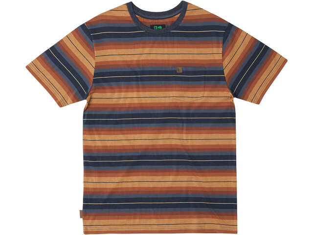 Hippy Tree Cold Creek Knit Camiseta Hombre, heather blue